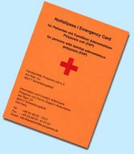 Notfallausweis
